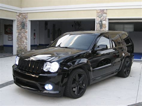 jeep cherokee blacked all blacked out jeep srt8 with hids cars pinterest