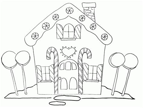 cardboard coloring house printable gingerbread house coloring pages coloring home