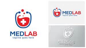 medical lab logo logos amp graphics