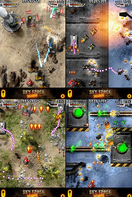 sky force reloaded iphone ipod touch game    hours techeblog