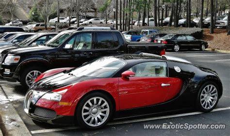 bugatti veyron spotted in atlanta on 12 15 2011