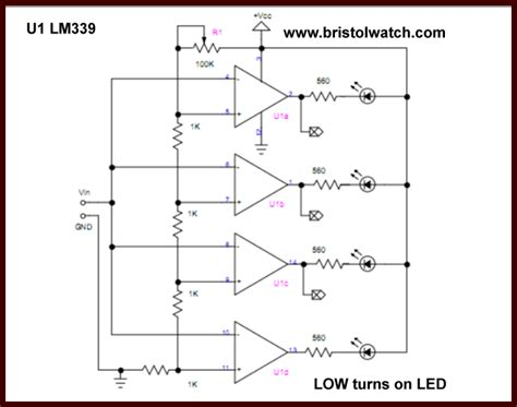 comparator circuits exles tutorial