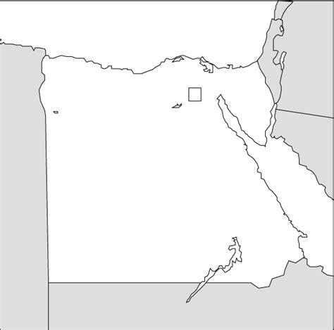 printable map egypt egypt map