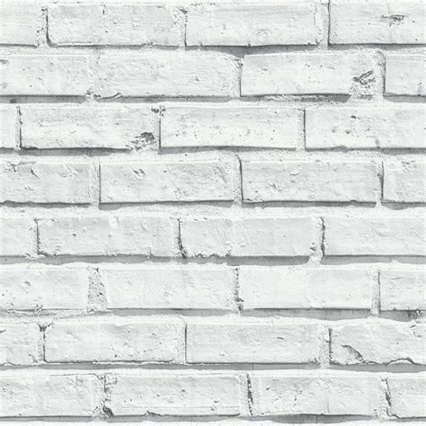 white brick removable wallpaper contemporary wallpaper arthouse white brick 3d effect modern wallpaper stone wall