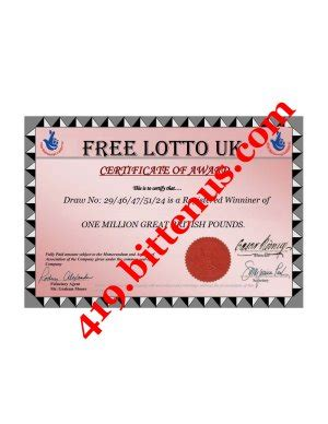 Online Sweepstakes International Lottery Program - de freelotto email sweepstakes program corporation todaypartiesx0 over blog com