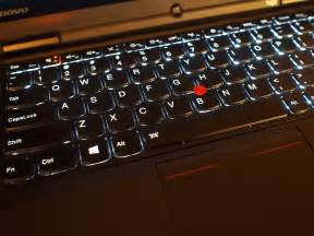 lenovo thinkpad backlit keyboard