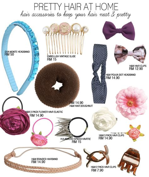 make your home beautiful with accessories 10 pretty hair accessories to make you look cute at home