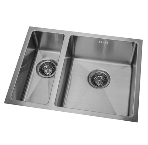 Kitchen Sinks Nz Dv203 L Brighton 34 215 40 17 215 40 Lh Small Bowl Mercer Interiors