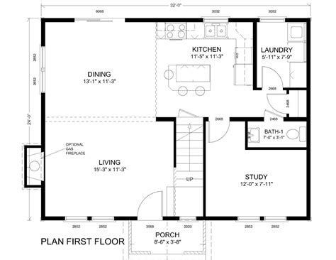 Colonial Home Floor Plans | open floor plan colonial homes traditional colonial floor
