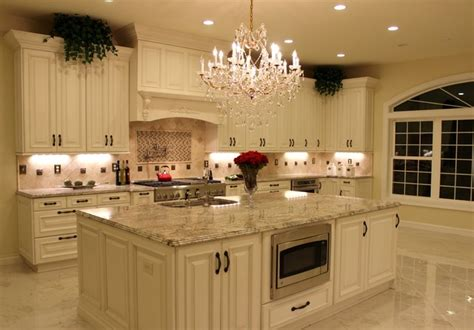 antique white kitchen cabinets w granite for sale 2 738 luxurious kitchen w antique white cabinetry sienna