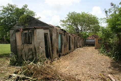 slave houses the slave villages the westindian heritage