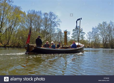 steam boat norfolk broads steam launch stock photos steam launch stock images alamy