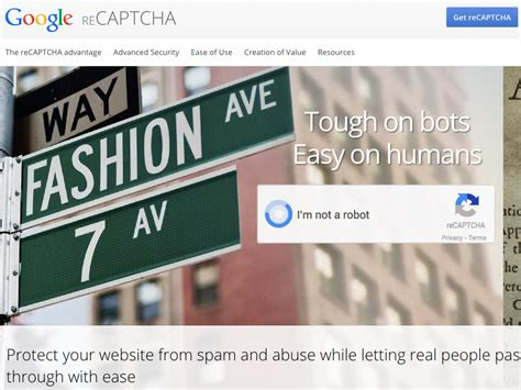 how to get your registered as a service how to register your site for recaptcha
