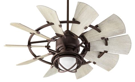 quorum ceiling fans with lights quorum windmill ceiling fan model 194410 86 in bronze