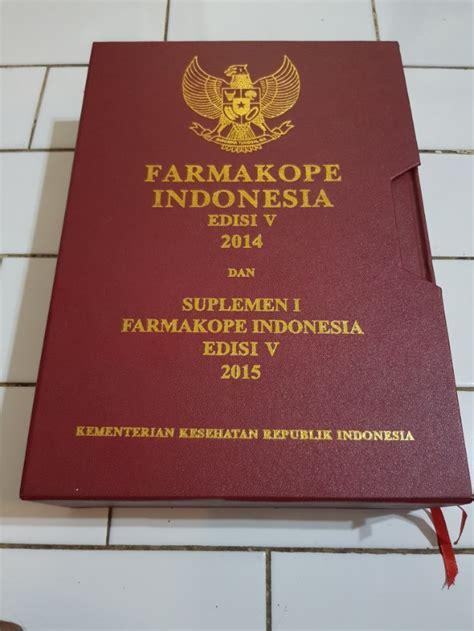 Farmakope V 2014 By Buku Murah buku farmakope indonesia edisi v 2014 suplemen i 2015