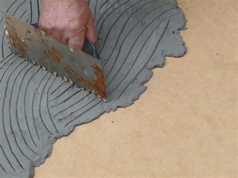 Install Cement Board Underlayment for Tile Flooring
