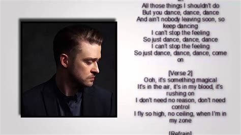 justin timberlake i got this feeling justin timberlake can t stop the feeling quot lyrics quot youtube