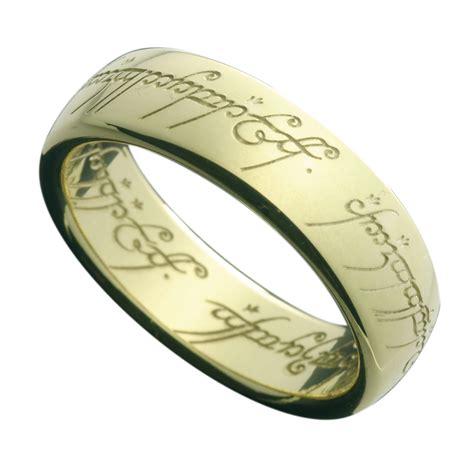 ringe shop der herr der ringe ring gold 14 karat offizieller