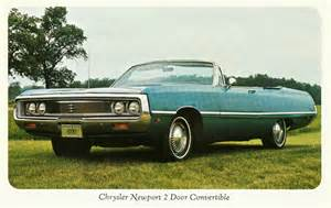 1969 Chrysler Newport Convertible For Sale 1969 Chrysler Newport 2 Door Convertible Canada A