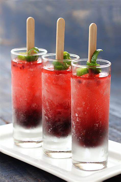 cocktail popsicles for weddings magazine
