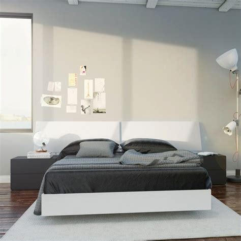 white full bedroom sets 4 piece full bedroom set in white and black 400664 set
