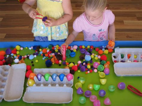 sensory table ideas for toddlers easter sensory play table learning 4