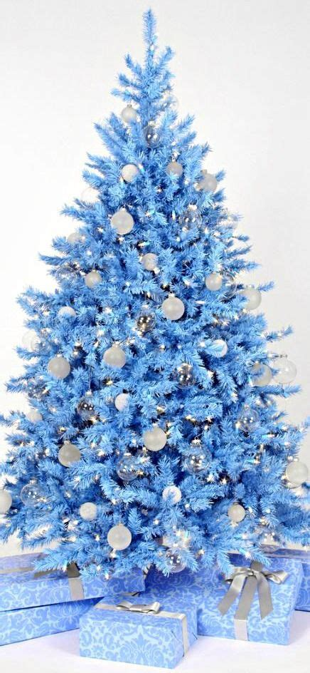 blue and silver decorated christmas trees mesmerizing blue tree decorations celebration all about