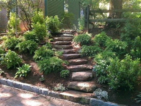 landscape ideas for hilly backyards 95 backyard landscaping ideas with slope small backyard