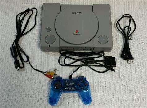 ebay playstation 1 console original sony playstation one ps1 gray console