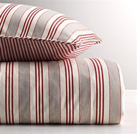 ticking stripe bedding vintage ticking stripe duvet cover