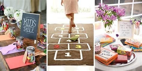 11 ways keep kids entertained at weddings onefabday com