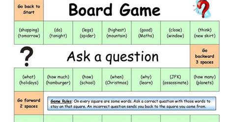 how to ask a question in english huzzah mates board game ask a question medium english language