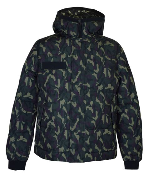 Camouflage Hooded Jacket green hooded camouflage jacket