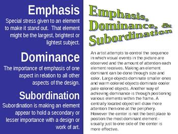 principles of design quiz powerpoint principles of design powerpoint by jewels teachers pay