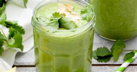 Green Detox Smoothie With Pineapple by Pineapple Detox Smoothie Bodyblocks