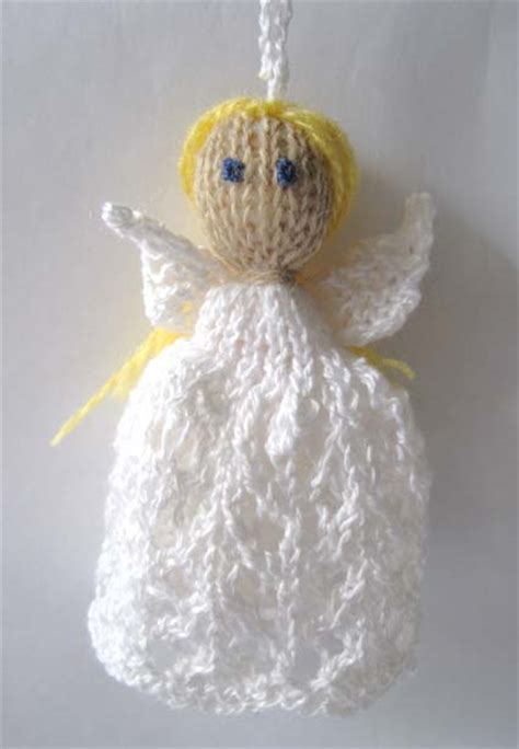 pattern for knitted christmas angel knitting and more december 2011