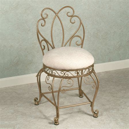 small metal vanity chair vanity chair