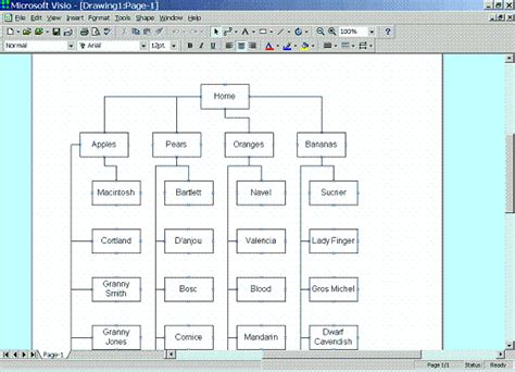 visio website map the lazy ia s guide to sitemaps boxes and arrows