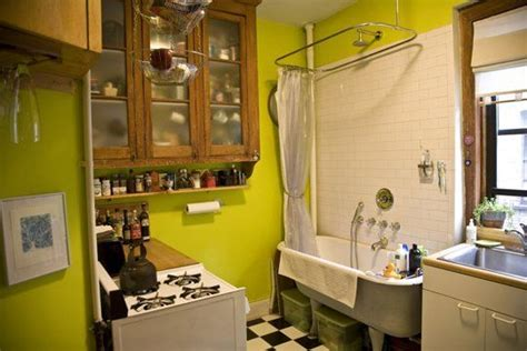 Bathtub In Kitchen by Small Cool 2009 Alex Corey S Pre War Tenement Tiny