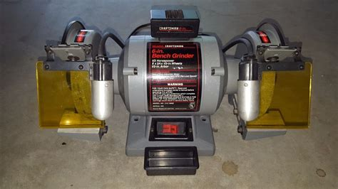 sears craftsman bench grinder sears craftsman 6 inch bench grinder 1 3 hp 1 2 inch