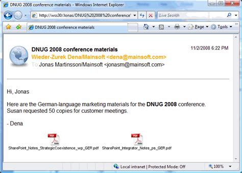 lotus notes email customize the look of ibm notes email documents
