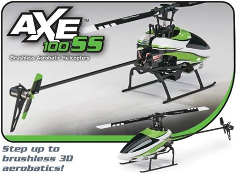 axe 100 ss axe 100 ss brushless flybarless 2 4ghz rtf rc heli