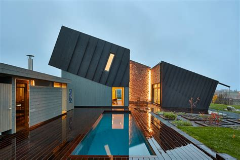 innovative homes sn 248 hetta s tilted zero energy house completed in