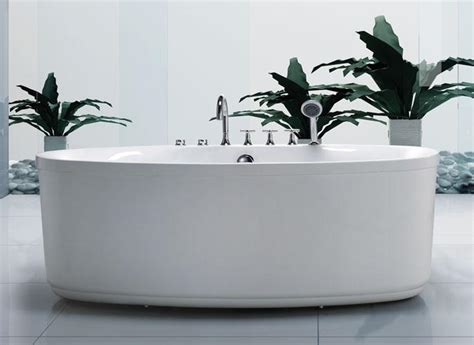 67x33 dual whirlpool air system bathtub 8 water jets