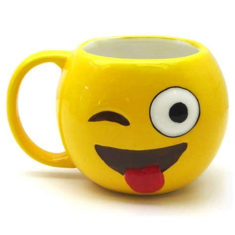 kitchen emoji emoji mug wink create a her table and kitchen gifts and hers gift shop