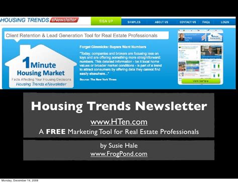 housing trends newsletter housing trends newsletter marketing ideas for real estate