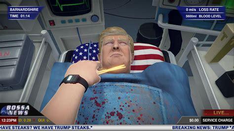 donald trump game operate on donald trump in new surgeon simulator dlc