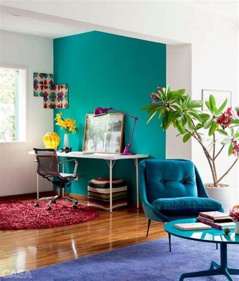 escoge el color turquesa  decorar interiores ev