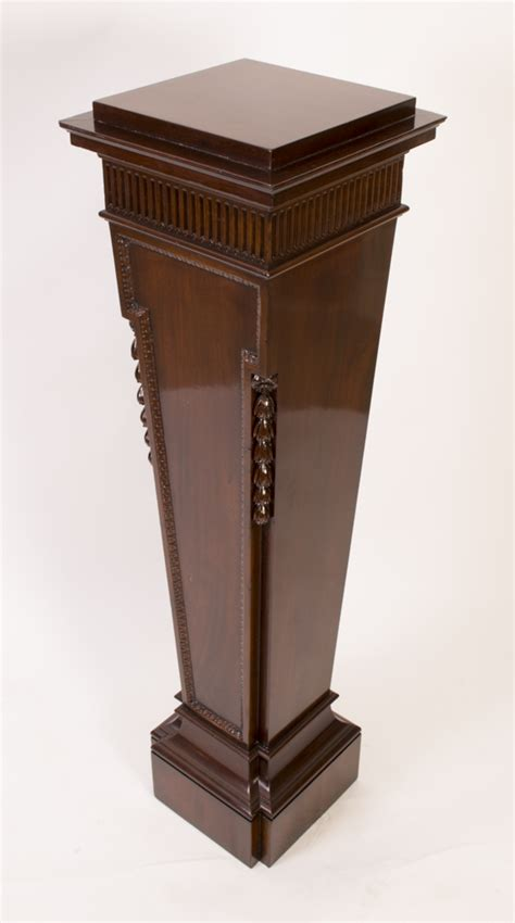 Regent Antiques   Pedestals and plant stands   Antique Victorian Mahogany Pedestal Stand c.1870