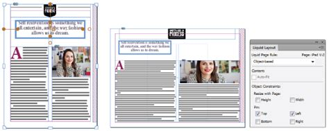 liquid layout in indesign liquid and alternate layouts in indesign